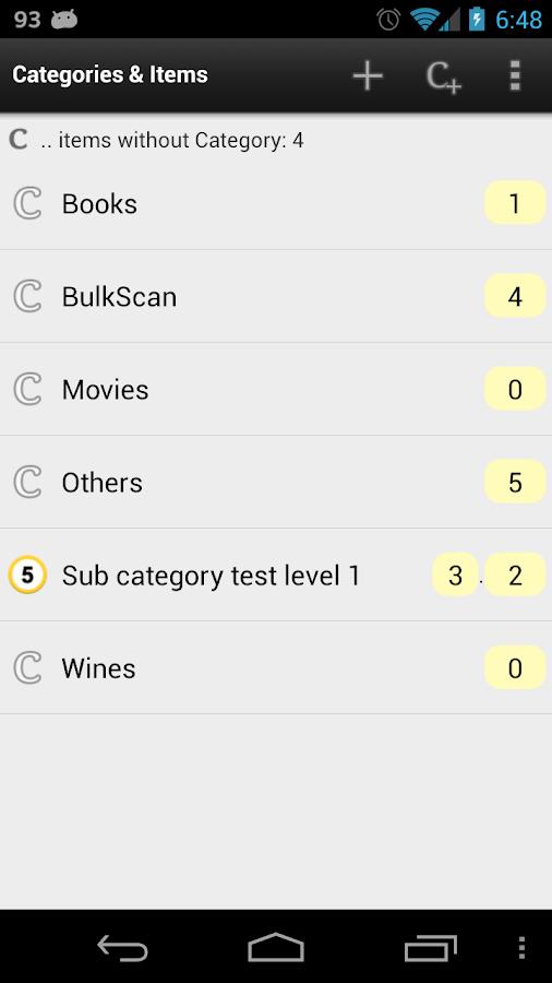Barcode & Inventory Pro - screenshot