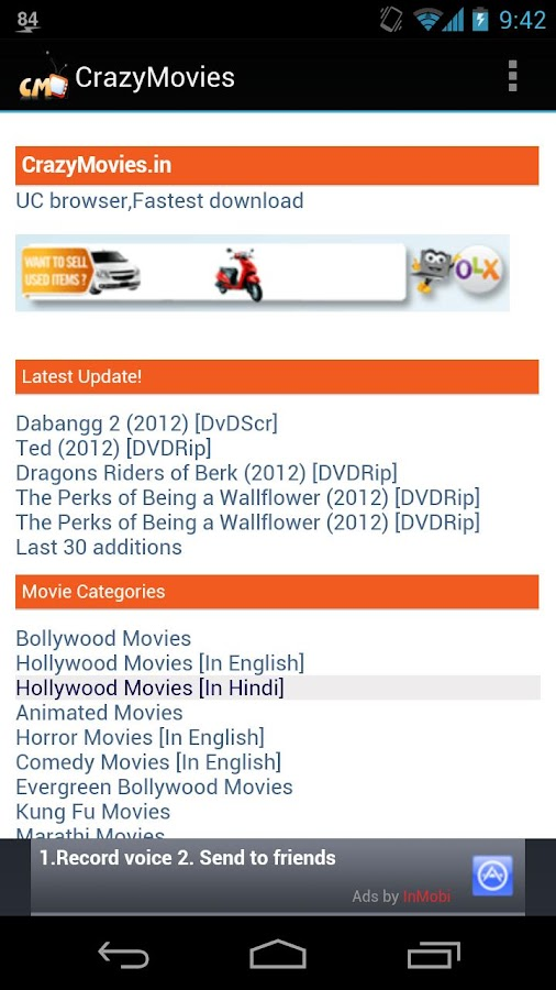 Free Mobile Movies Download - screenshot