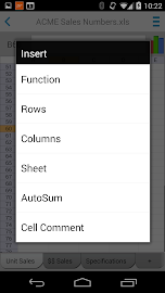 Docs To Go™ Free Office Suite Screenshot 6