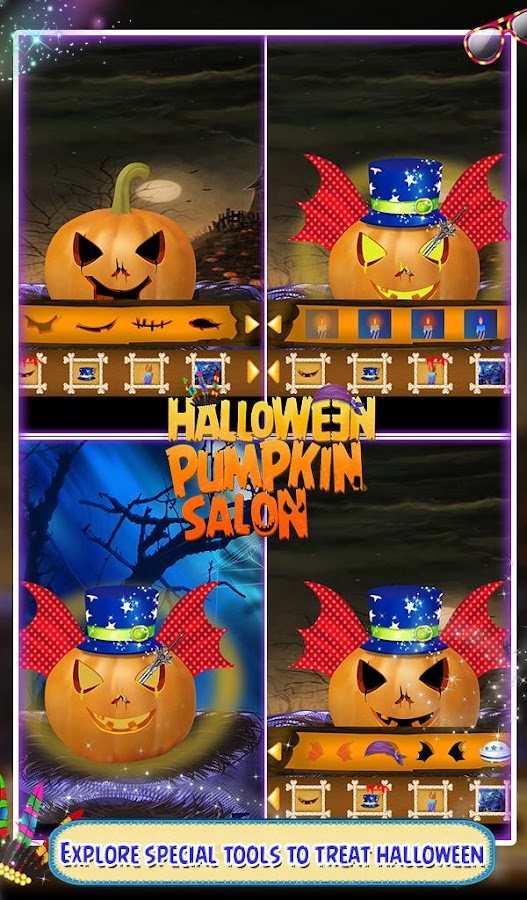Halloween Pumpkin Salon- screenshot