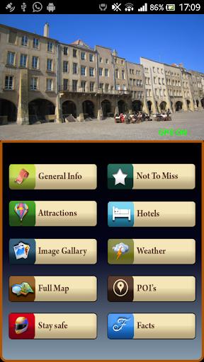 Metz Offline Map Guide
