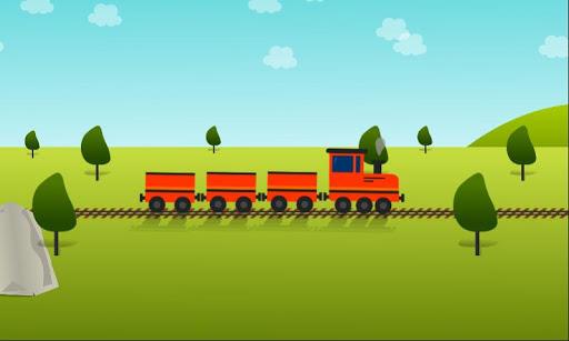 Kids train game