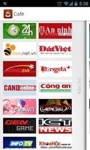 Café - Đọc tin tức Việt - screenshot thumbnail