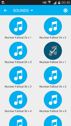 Keyboard Nuclear Fallout Sound