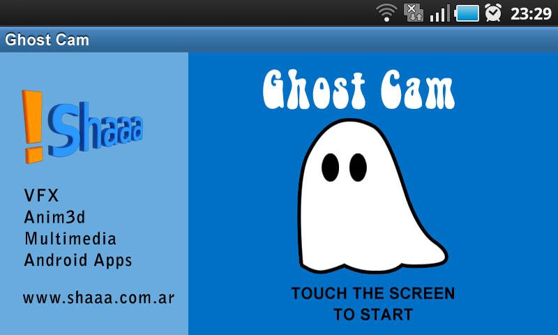 Ghost Cam Lite- screenshot