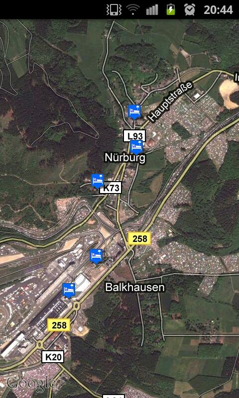 Nurburgring Info- screenshot