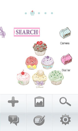 娛樂必備APP下載|CUKI Theme Sweet Cupcake 好玩app不花錢|綠色工廠好玩App