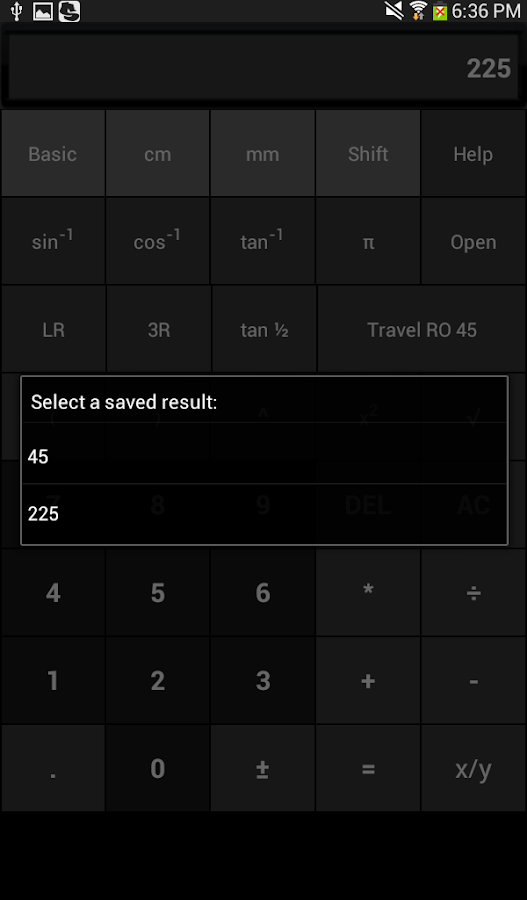 Pipe Fitter Calc- screenshot