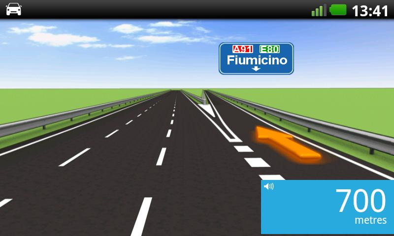 TomTom Italy - screenshot