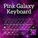 Pink Galaxy Keyboard icon