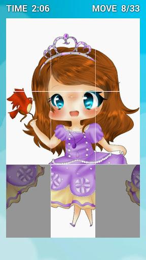 Swap Puzzle Sofia-Princess