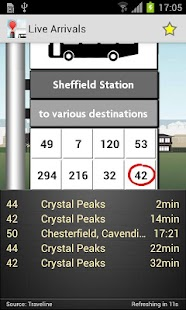 UK Bus Checker - screenshot thumbnail