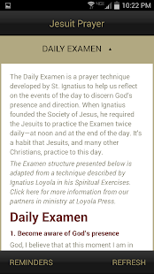 Jesuit Prayer - screenshot thumbnail