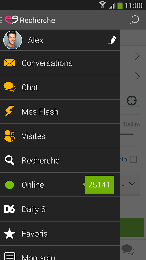 Meetic - Rencontres et chat - screenshot