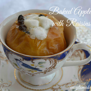 Baked Apple.