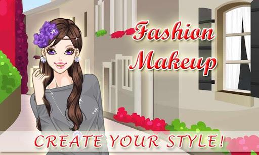 Fashion Makeup - Kids Games