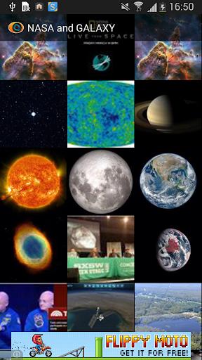 NASA and GALAXY