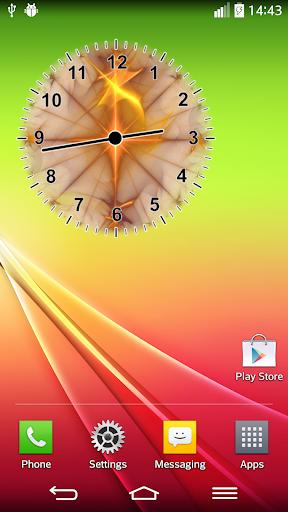 模擬時鐘部件