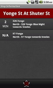 Toronto Transit Tracker - screenshot thumbnail