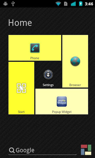 Yellow theme for SquareHome