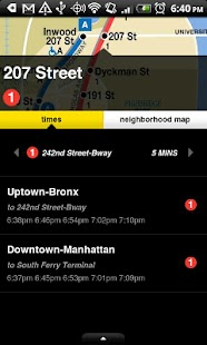 NYCMate (NYC Bus & Subway) - screenshot thumbnail