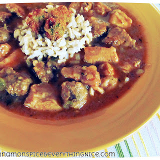 Andouille Sausage and Chicken Gumbo