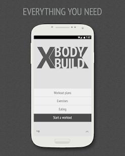 XBodyBuild Pro - náhled