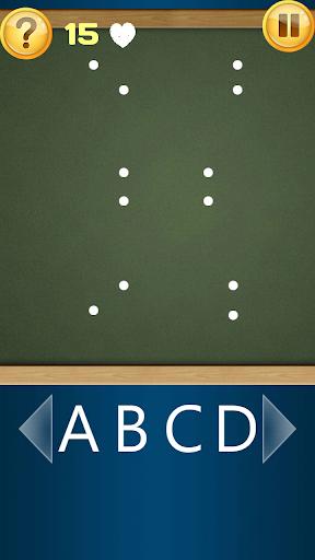 点连接ABC