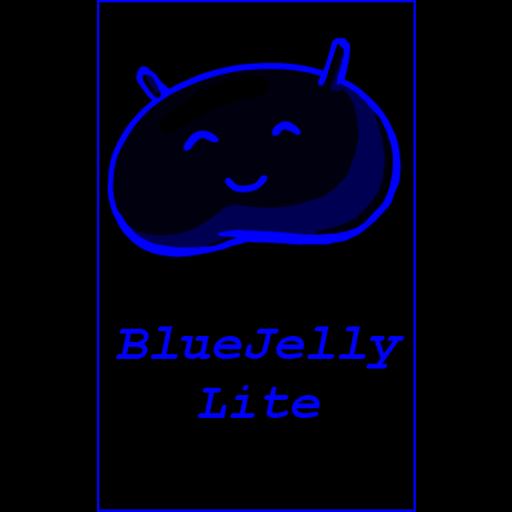 BlueJelly-Lite Theme ICS/JB LOGO-APP點子