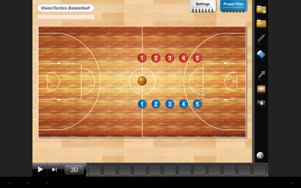 VisionTactics Basketball- screenshot
