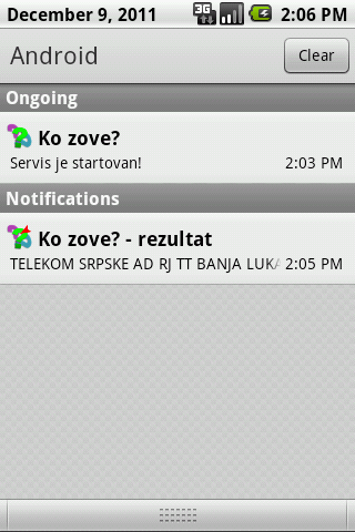 Ko zove? - screenshot