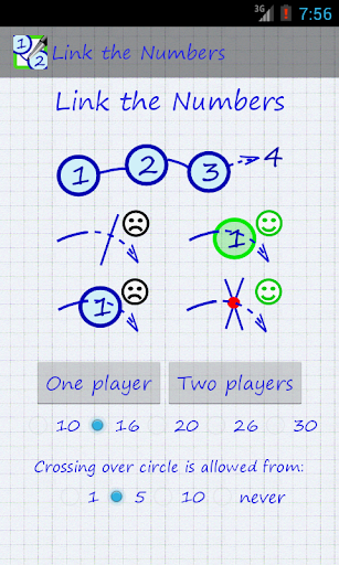 Connect the numbers 2 players
