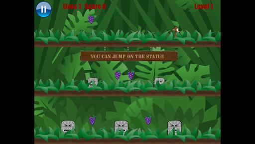 ジャングルのサルの冒険