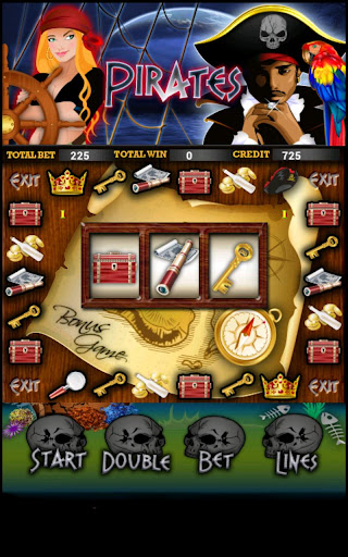 Pirate Slot Machine HD Screen Capture 3