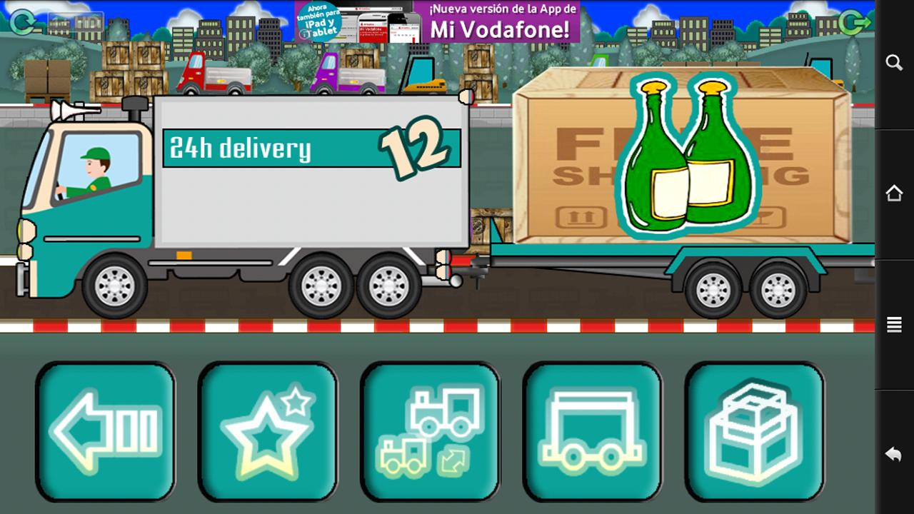 Baby Delivery Truck - screenshot