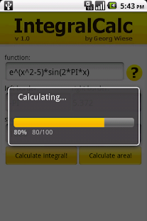 IntegralCalc- screenshot thumbnail