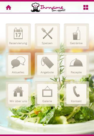 Gastronomie Demo-App