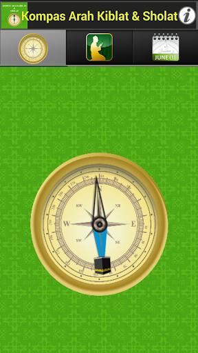 Kompas Arah Kiblat Sholat