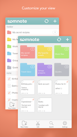 SomNote - Beautiful note app Screenshot 11