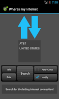 Screenshot of Wheres my Internet Lite