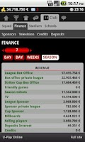 Screenshot of Striker Manager (soccer)