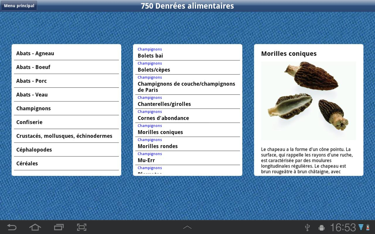 Bases de la cuisine hd android apps on google play - Base de la cuisine ...
