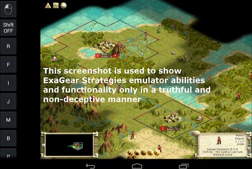 Эмулятор ExaGear Strategies для планшетов на Android