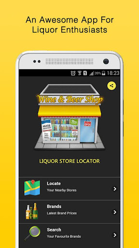 LiquorApp: Liquor Shop Locator