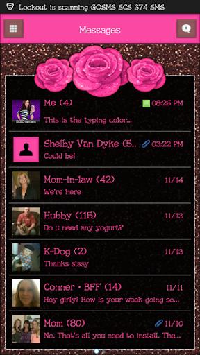 GO SMS THEME - SCS373