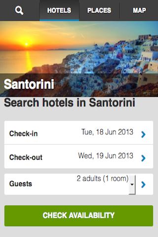 Santorini Hotels Booking Cheap
