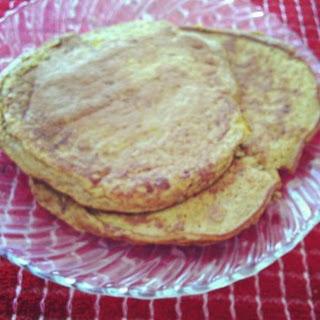 Low-Carb Pumpkin Protein Pancakes.