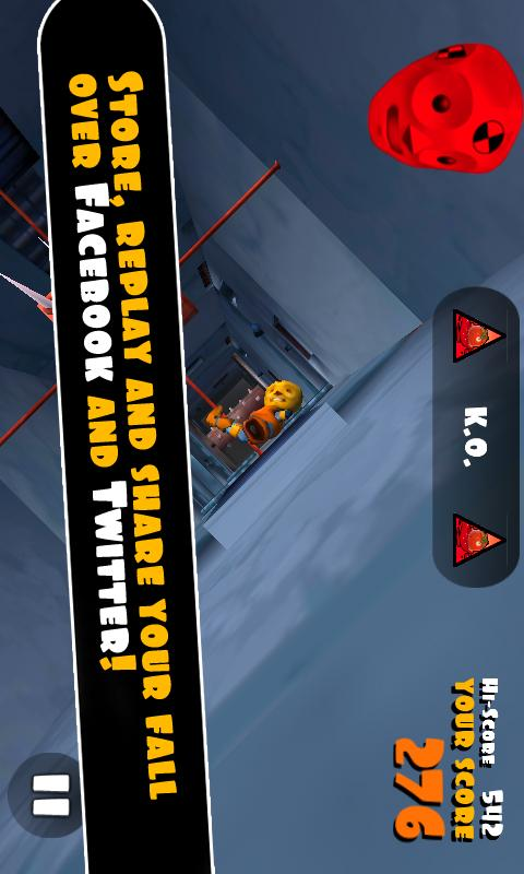 Falling Fred- screenshot