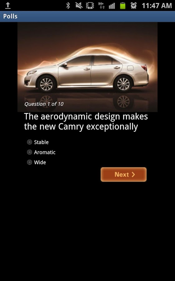 Toyota Camry – ALJ- screenshot