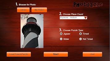 Screenshot of Photuzzle